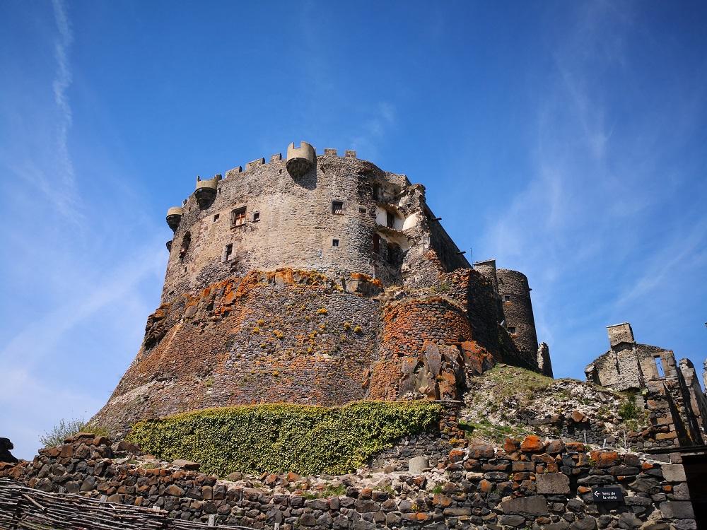 visite chateau de murol avec chien