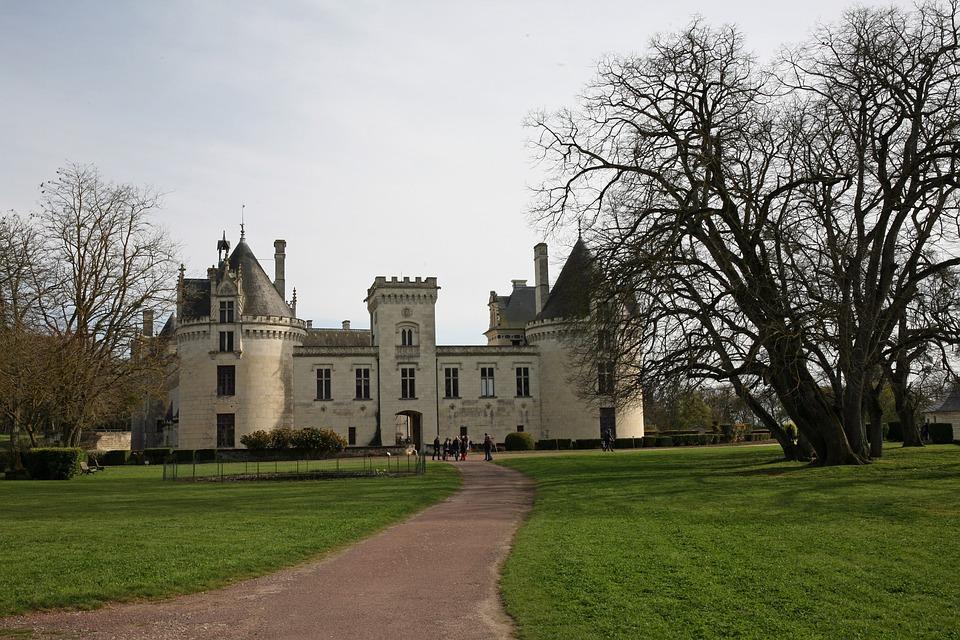 château de brézé visite avec chien