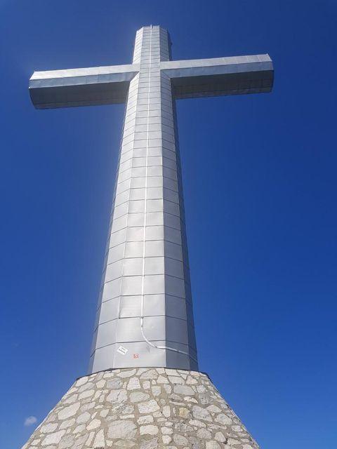 croix du nivolet avec chien