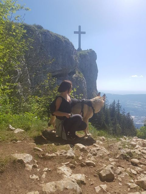 croix du nivolet balade avec chien